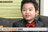 """""""Tiểu Psy"""" khóc nhiều khi mẹ bị nói xấu"""