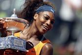 Thắng áp đảo Azarenka, Serena vô địch Rome Open 2013