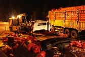 Hai xe tải tông nhau, 6 người thương vong