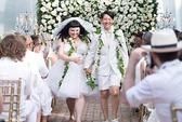 """""""Bé bự"""" Beth Ditto tổ chức đám cưới trắng"""