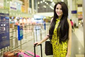 """Lại Hương Thảo lên đường sang Indonesia thi """"Miss World"""""""