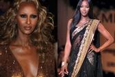 Naomi Campbell, Iman kêu gọi sử dụng người mẫu da màu