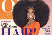 Oprah Winfrey đội 1,5kg tóc giả trên đầu