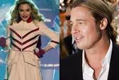 """Madonna mơ """"ngủ"""" với Brad Pitt"""
