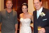 """Brad Pitt """"quấy rối"""" đám cưới ở Anh"""