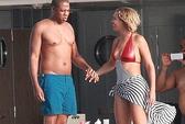 Vợ chồng Beyonce khoe da mừng sinh nhật