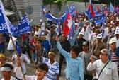 Phe đối lập Campuchia lại biểu tình