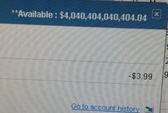 Thức giấc thấy 4.000 tỉ USD trong tài khoản