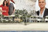 Ngắm nhà sang của George Clooney, Cindy Crawford