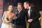 Taylor Swift, Bon Jovi vui ca cùng Hoàng tử William