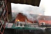 Cháy lớn tại tập thể quân đội Nam Đồng, 1 sĩ quan bị thương