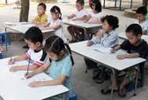 Bắt trẻ mầm non học chữ (!)