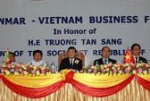 Doanh nghiệp Myanmar đánh giá cao thị trường Việt Nam