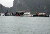 Lật xuồng trên vịnh Hạ Long, 5 du khách thiệt mạng