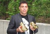 """Ngắm giày vàng Nike tặng cho Ro """"béo"""""""