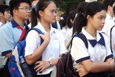 TPHCM: 9.803 thí sinh không trúng tuyển lớp 10