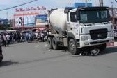 Xe tải cán chết 3 người