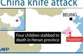 Bắt cóc, đâm chết 4 trẻ em