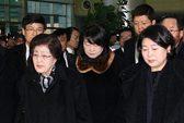 Cựu đệ nhất phu nhân Hàn Quốc đến Triều Tiên