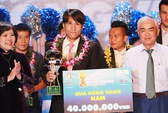Quốc Anh lần đầu giành Quả bóng vàng Việt Nam