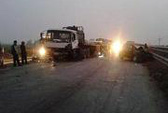 Tai nạn liên hoàn, quốc lộ 1 tắc nghẽn 10 km