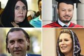 Các con của ông Gaddafi trốn khỏi Algeria