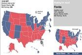 Tại sao bang Florida vắng bóng trên bản đồ kết quả bầu cử Mỹ?
