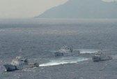 Năm tàu Trung Quốc tái xuất gần Senkaku/Điếu Ngư