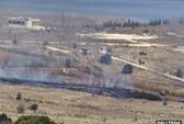 Xe tuần tra biên giới Israel trúng đạn Syria