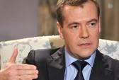 Ông Medvedev gặp rắc rối vì đoạn băng hậu trường