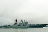 Nga phái tàu khu trục hạng nặng tới Iran