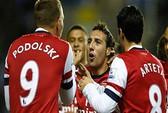 Arsenal thắng năm sao