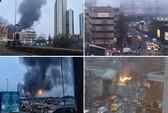 Trực thăng bốc cháy ở London, 2 người chết