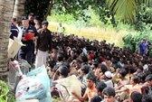 500 người Myanmar bơi tới Malaysia
