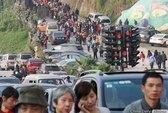 Trung Quốc: Gỡ chùm đèn giao thông