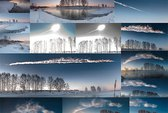 Những hình ảnh ngoạn mục từ mưa thiên thạch Nga