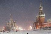 Tuyết dày chưa từng thấy ở Moscow trong 100 năm qua