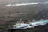 Năm tàu Trung Quốc tới Senkaku