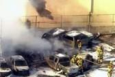 Mỹ: Máy bay đâm sầm vào nhà để xe ở Florida