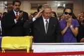 Venezuela tiến hành quốc tang Tổng thống Chavez