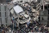 Sập nhà 8 tầng, hơn 120 người thiệt mạng