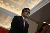 Luật sư khiếm thị Trần Quang Thành tới Đài Loan