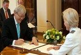 Tân thủ tướng Úc nhậm chức