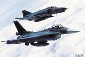 Chiến đấu cơ Nhật bám theo máy bay Nga