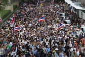 Thái Lan: Hàng ngàn người biểu tình phản đối dự luật ân xá