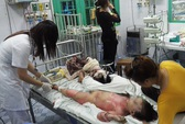 Vụ đốt con dâu và cháu nội: Bé 4 tuổi đã tử vong