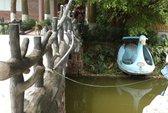 2 bé gái chết đuối trong hồ nước khu sinh thái