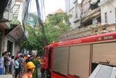 Hà Nội: Cháy quán cơm bên trong có trẻ sơ sinh