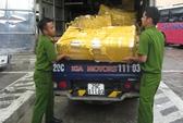 Phát hiện gần nửa tấn cá trắm nhập lậu từ Trung Quốc