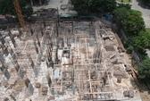 Rao bán rầm rộ căn hộ dự án bị đình chỉ thi công